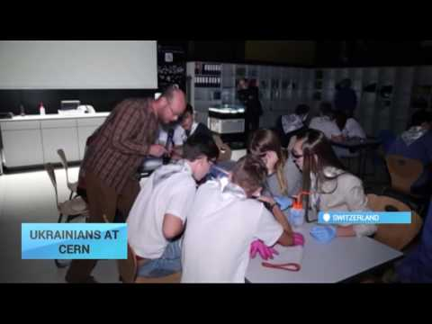 Ukrainians at CERN: Children get internship at world's largest particle physics laboratory