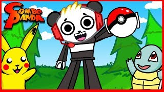ROBLOX Pokemon Go Let's Play with COMBO PANDA Part 2