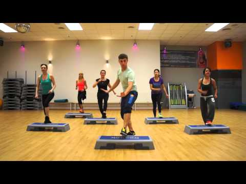 Zumba Step Enrique Iglesias - There goes my baby ( Pop )