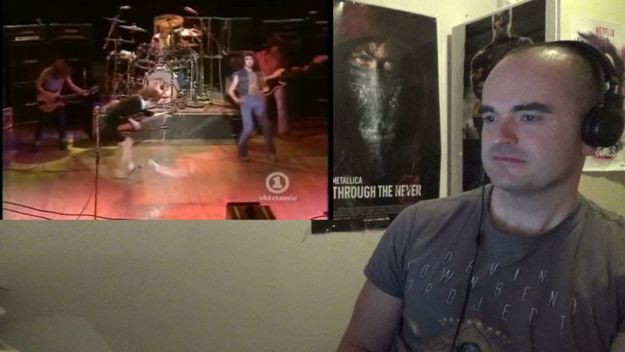 R I P Malcolm Young Ac Dc Let There Be Rock 1977 Bbc Reaction