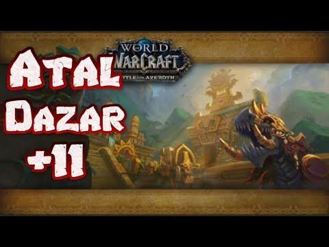 wow-|-atal-dazar-mythisch-+11-|-waffen-krieger-|-brokken