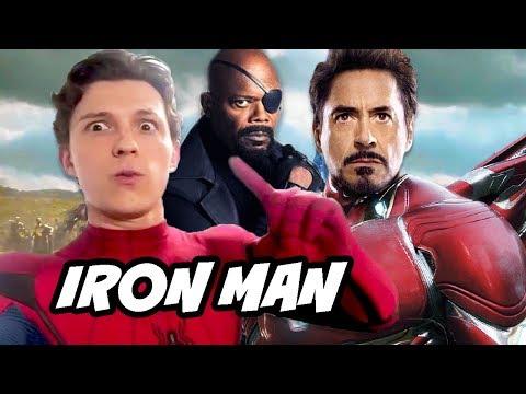 Spider-Man Far From Home Iron Man Scene - Avengers Easter Eggs Explained