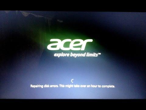 "Solution to ""repairing disk errors"" loop (Windows 8 - auto repair loop fix)"