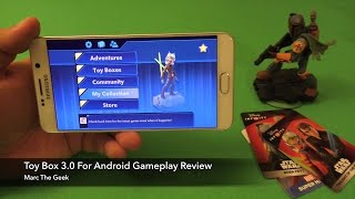 Disney Infinty: Toy Box 3.0 For Android Gameplay Review