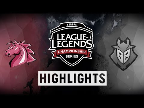 UOL Vs. G2 - EU LCS Week 8 Day 1 Match Highlights (Summer 2018)