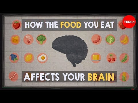 Video image: How the food you eat affects your brain - Mia Nacamulli