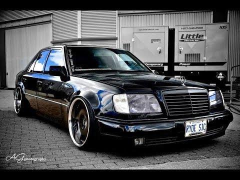 История Mercedes W124 + ВОЛЧОК, Brabus 7 3л  V12⁄572л с