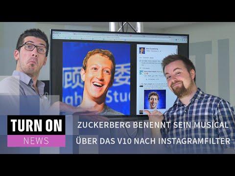Zuckerberg benennt sein Musical über das V10 nach Instagramfilter - News - 4K