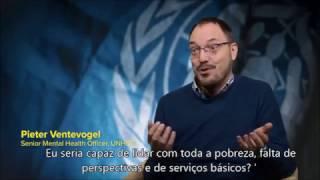 Pieter Ventevogel sobre saúde mental dos refugiados