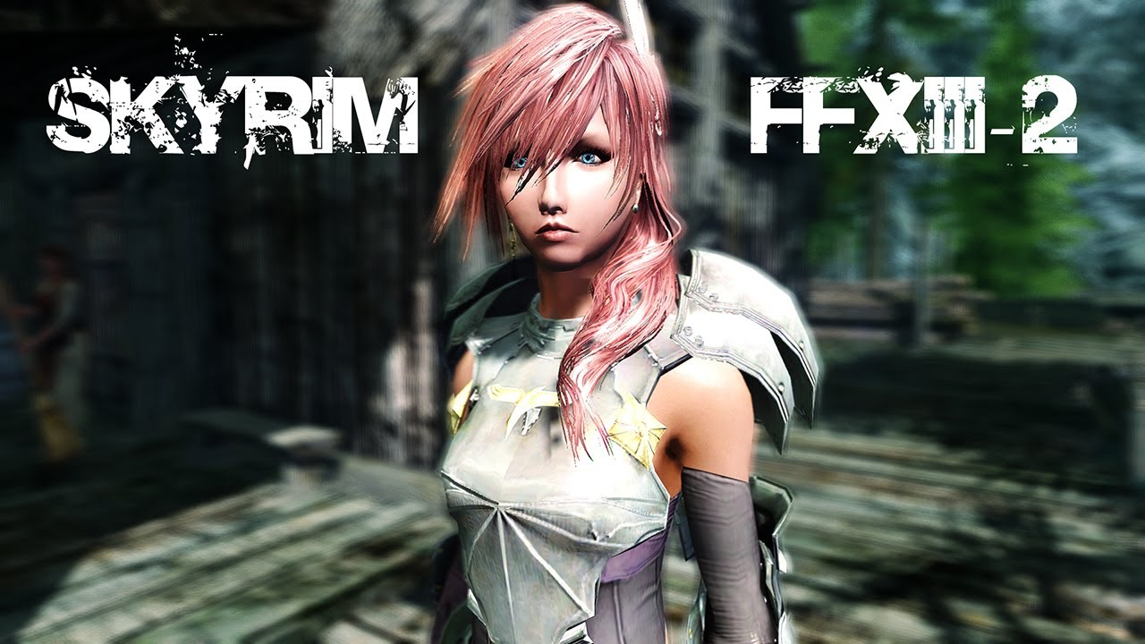 Final fantasy xiii nude mod bitches
