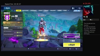 Fortnite game play ps a.I.M skin game play
