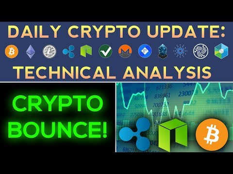 Big Crypto Bounce! Is The Sell-Off Over? (1/18/18) Daily Update + Technical Analysis