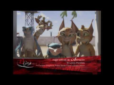 El lince perdido, Mejor Película de Animación en los Goya 2009
