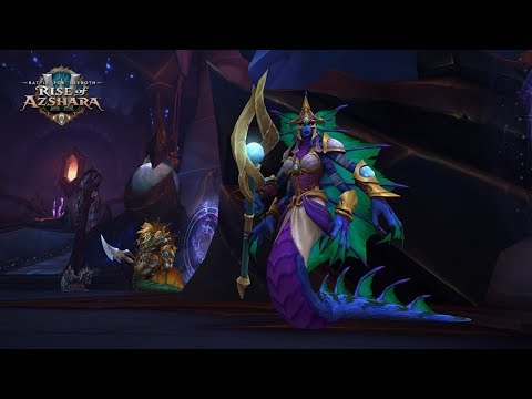 The Queen's Court Boss Fight - The Eternal Palace Raid Normal 8.2