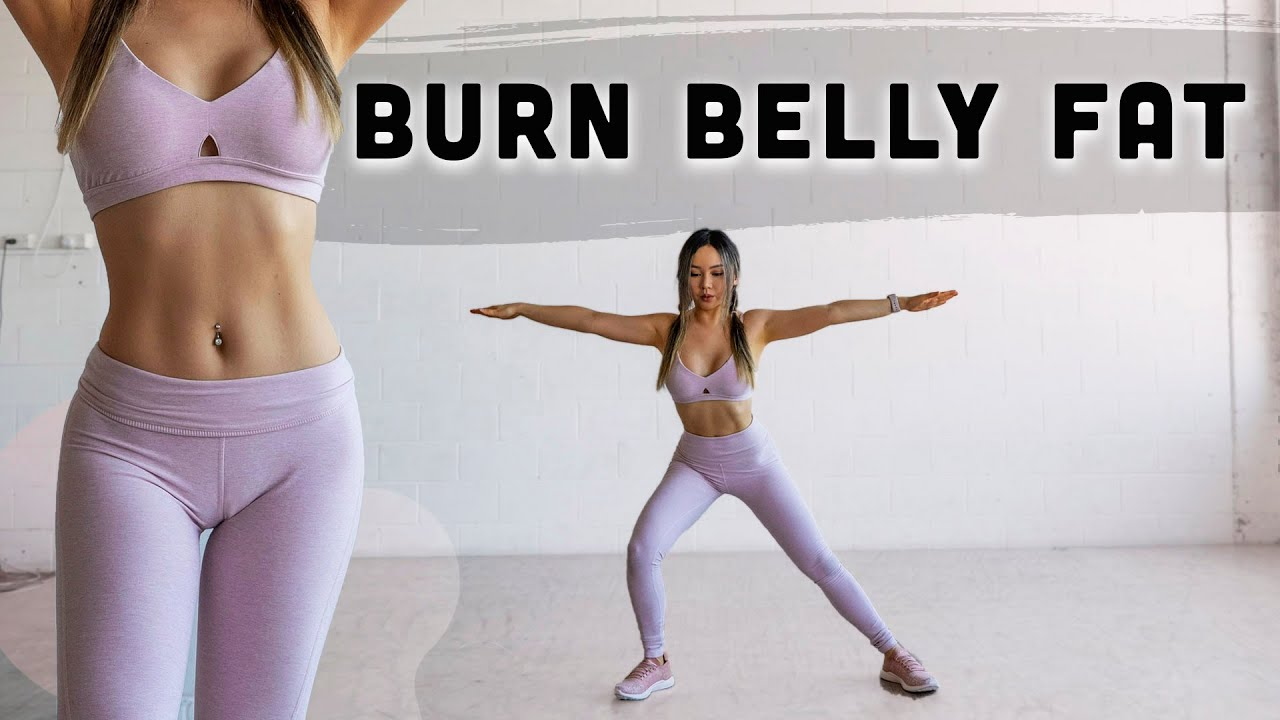 10 Min Morning Routine to Burn Belly Fat | No Jumping