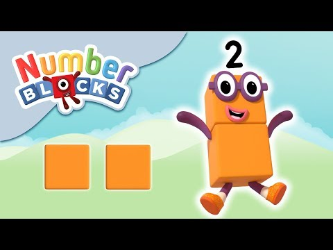 Numberblocks - The Number Two | Learn to Count