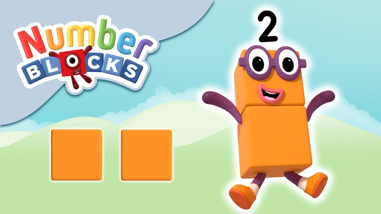 Numberblocks - The Number Two | Learn to Count - YouTube