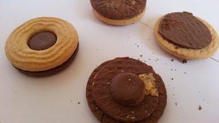 Ballerina Original Cookies/biscuits With Creamy Nougat