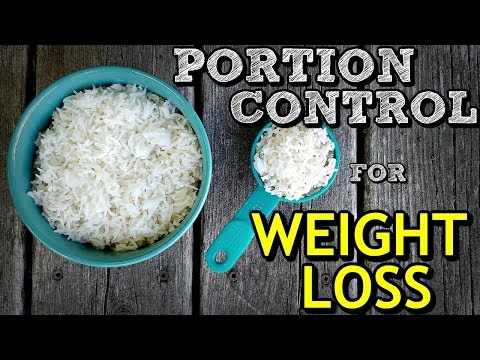 How to PORTION CONTROL for MASSIVE WEIGHT LOSS