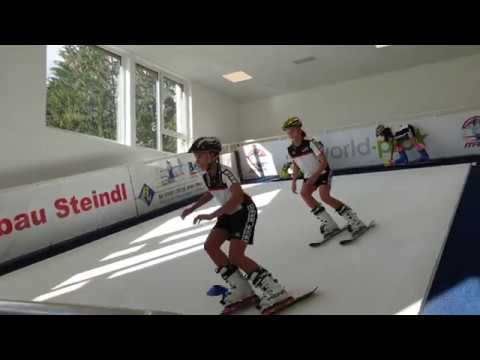 Горнолыжный тренажер в австрийской спортивной школе