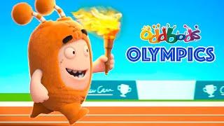 Oddbods Olympic Run   Celebrating Tokyo 2020   Cartoons For Kids