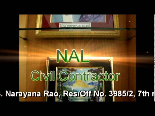 Construction Services, esidential Constructions, and interior and exterior design at NAL Civil Contractor