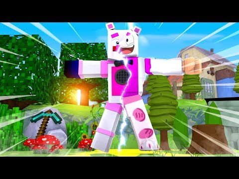 Funtime Freddy In Roblox Animatronic World - Minecraft FNAF Roleplay (Minecraft VS Roblox) thumbnail