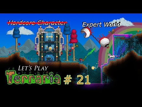 Terraria | Building a Green House | # 21