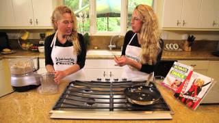 Cottage Cheese Veggie Burgers : Double Energy!