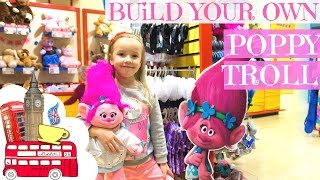 Poppy - Build your own DreamWorks Trolls in Build-A-Bear Workshop London