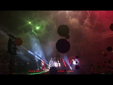 COLDPLAY LIVE IN SAN DIEGO 10/08/17 NEW SONG FOR Estamos Unidos Mexicanos Concert