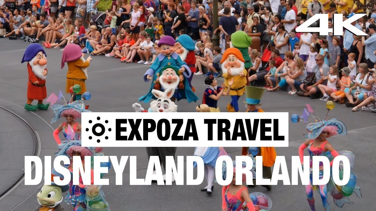 Disneyland Orlando (America) 4K Quality Vacation Travel Video Guide