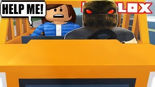 UBER DRIVER KIDNAPPED ME IN ROBLOX | The streets (Funny Moments)