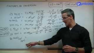 Factores De Conversion 02 Secundaria 3ºeso Matematicas Youtube