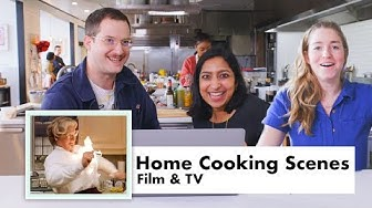 Pro Chefs Review Home Cooking Scenes From Movies & TV | Test Kitchen Talks | Bon Appétit