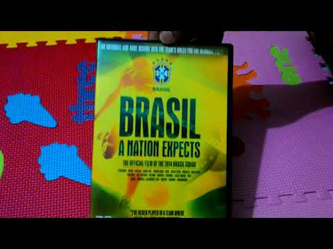 Brasil A Nations Expect - Unboxing Review DVD The Official FILM 2014 FIFA World Cup Squad