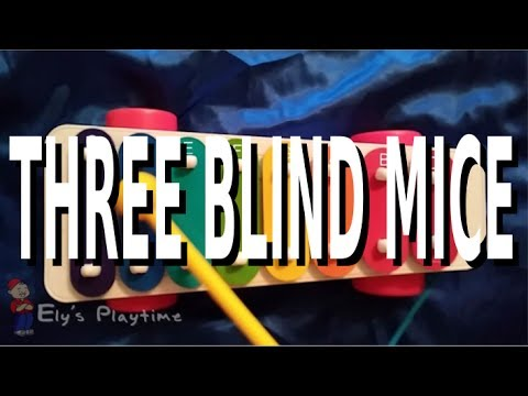 How to Play Three Blind Mice on the Kids Xylophone