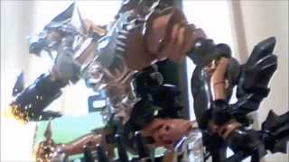 transformers aoe stopmotion dinobot charge
