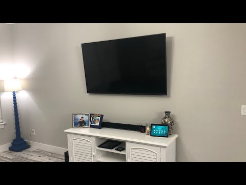 Hiding TV Cables Behind an Insulated Wall