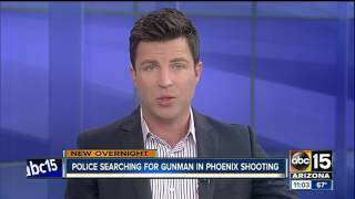 Phoenix PD searching for man suspected of shooting woman's new boyfriend