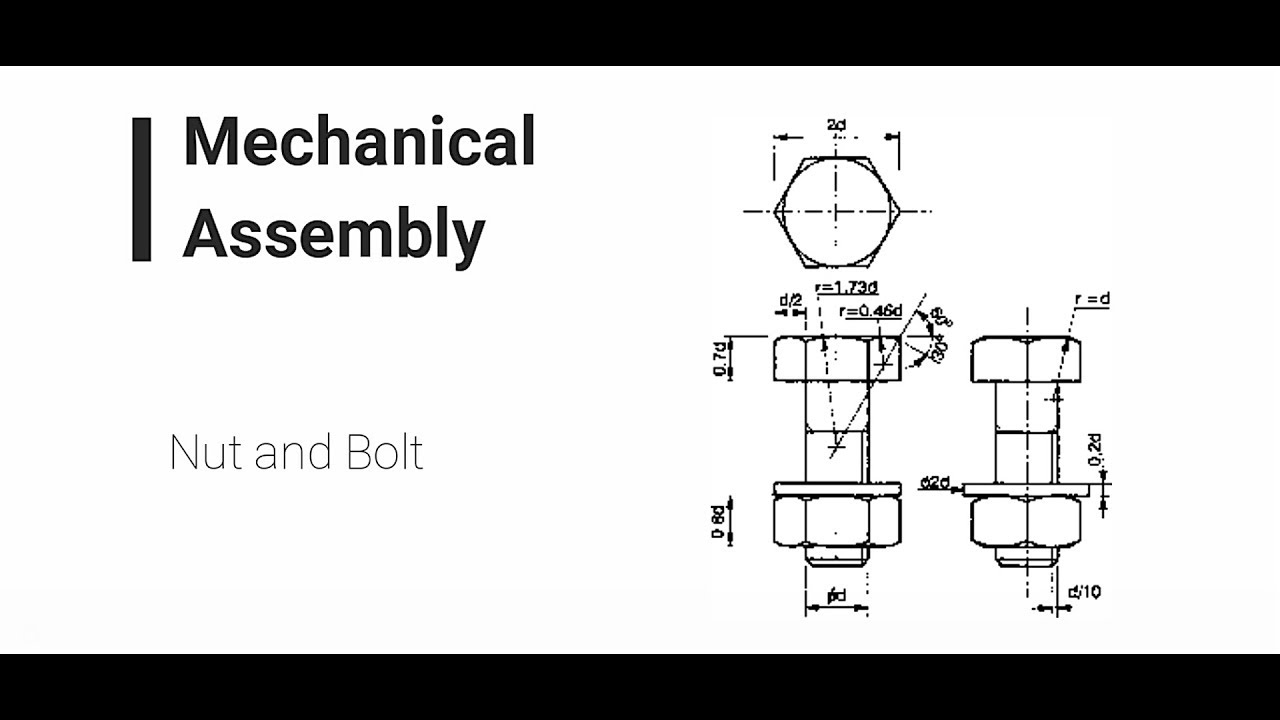 grade 11 egd mechanical assembly bolt & nut