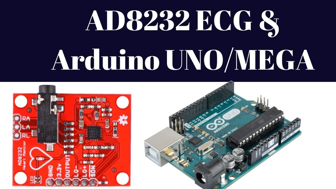 AD8232 ECG HEART RATE sensor With Arduino UNO/MEGA with code