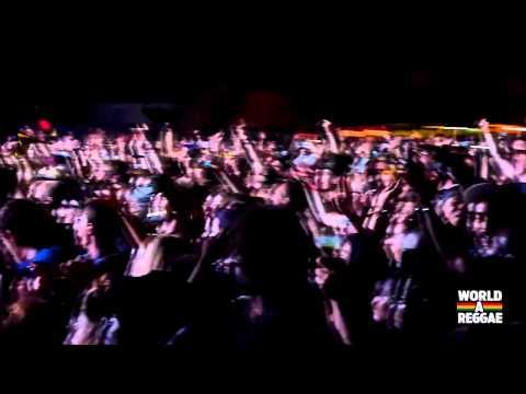 Damian Marley - Gunman World / Welcome to Jamrock @ Reggae Geel 2014 (BE)