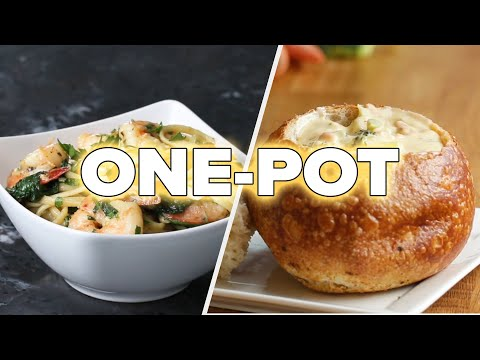 12 Easy & Healthy One-Pot Recipes