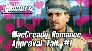 Fallout 4 - MacCready Romance - Approval Talk #1
