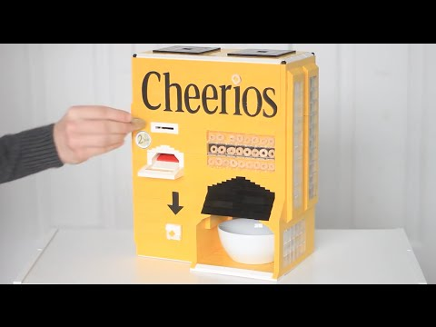 This cereal dispenser is made out of lego youtube this cereal dispenser is made out of lego ccuart Image collections