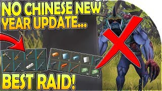 NO CHINESE NEW YEAR UPDATE (Why that's GOOD!) + BEST RAID - Last Day on Earth Survival Update 1.11.5