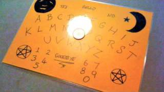 "How To Make Your Own ""penny Travel Ouija Board"""