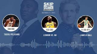 76ers/Pelicans, LeBron vs. MJ, LaMelo Ball | UNDISPUTED audio podcast (10.21.21)