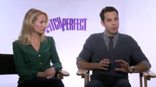 Pitch Perfect: Skylar Astin & Anna Camp Interview